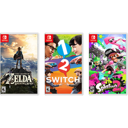 3 Switch games
