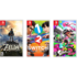 3 Switch games_